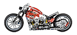 Конструктор JiSi bricks 3354 Мотобайк, фото 2