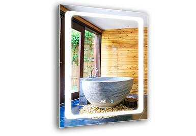 Светодиодное LED зеркало Aquarius Modena 60 см