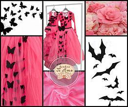Нарядное платье для девочки BAEL Украины БАБОЧКА Розовый