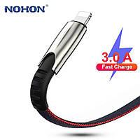 USB кабель Nohon для быстрой зарядки iPhone,, фото 1