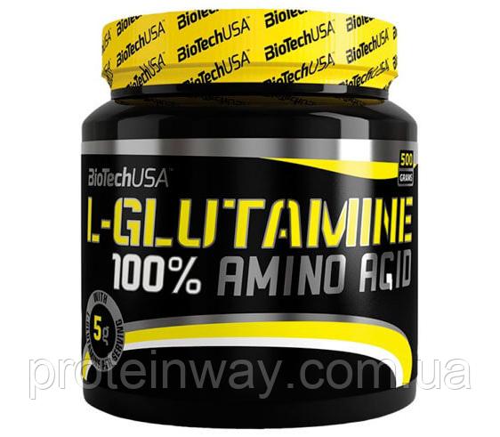 Biotech USA Глютамин 100% L-Glutamine 500 г