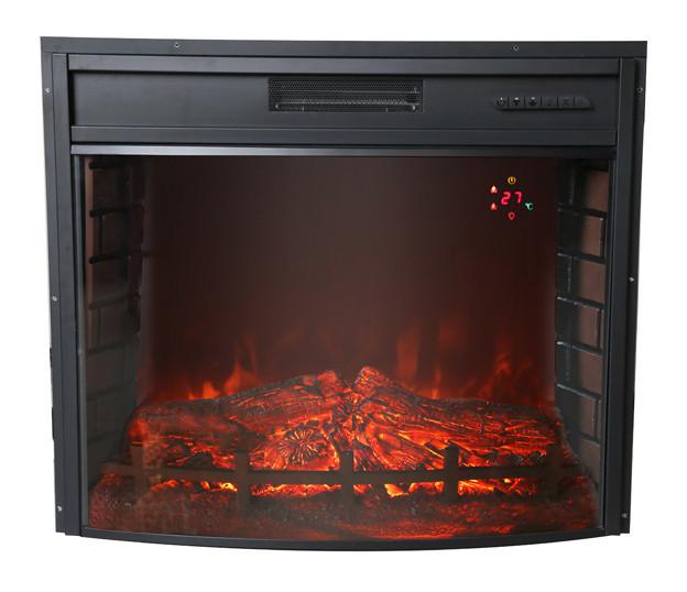 Электрический камин Bonfire EL1347 (закругленное стекло)