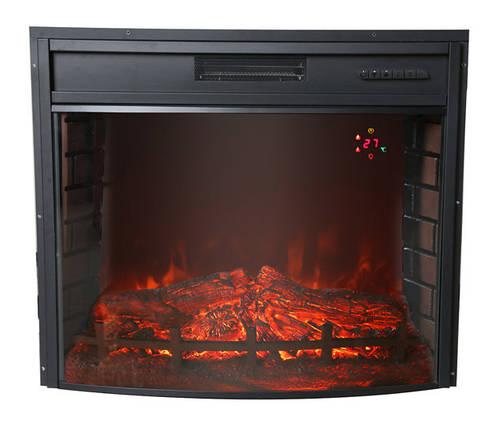 Электрический камин Bonfire EL1347 (закругленное стекло), фото 2
