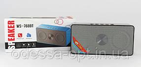 Моб.Колонка SPS WS 768 + Bluetooth