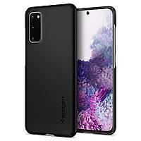 Чехол Spigen для Samsung Galaxy S20 Thin Fit, Black (ACS00788)
