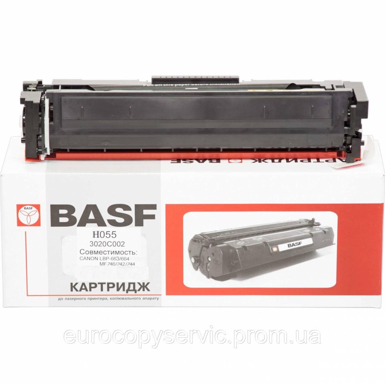 Тонер-картридж BASF для Canon MF-742Cdw аналог 3020C002 Black (BASF-KT-3020C002-WOC) без чипа