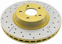 Задние тормозные диски DBA (с перфорацией) Toyota LC200