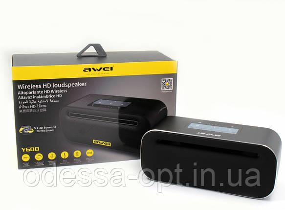 Моб.Колонка SPS AWEI Y600 + Bluetooth, фото 2