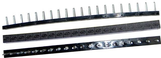 Полоска П/У «SIA» со штырьками на 10 пар 275*15 т.6,6 мм. черн. (Латвия), фото 2