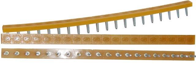 Полоска П/У «SIA» со штырьками на 10 пар 275*15 т.6,6 мм. беж. (Латвия), фото 2