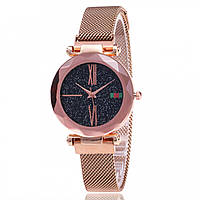 Женские наручные часы Sky Watch Розовое золото