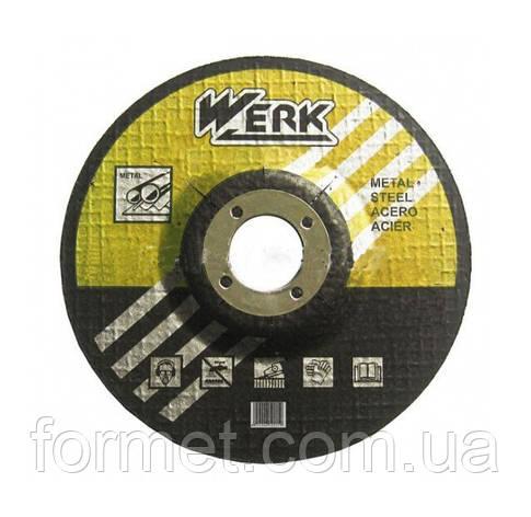Круг зачистной 115*6,3   WERK, фото 2