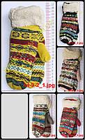 Женские варежки вязаные двойные - разные цвета - 14-9-2, фото 1