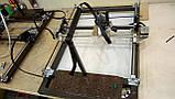 Лазерний гравер з ЧПУ, лазерний верстат, гравірувальний верстат 2,5 Вт, фото 6