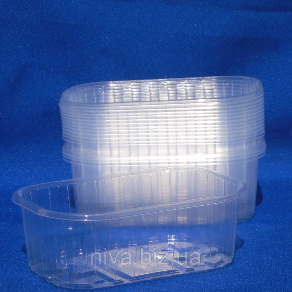 Пінетка для ягід пластикова Італія 250 г, фото 1