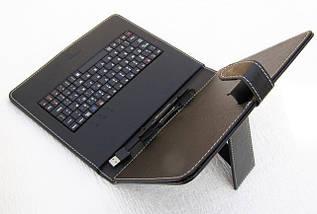 Чехол-клавиатура для планшета 9.7 дюймов Англ/Рус, фото 3