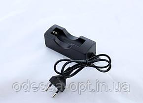 Зарядное устройство на 1x18650 от сети 220V singnal (200) в уп.10 шт., фото 2