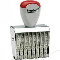 Нумератор ленточный 8-разрядный прямоугольный Trodat 1538 3 мм