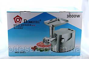 Мясорубка Domotec MS 2021  3000W  Металический корпус, фото 2