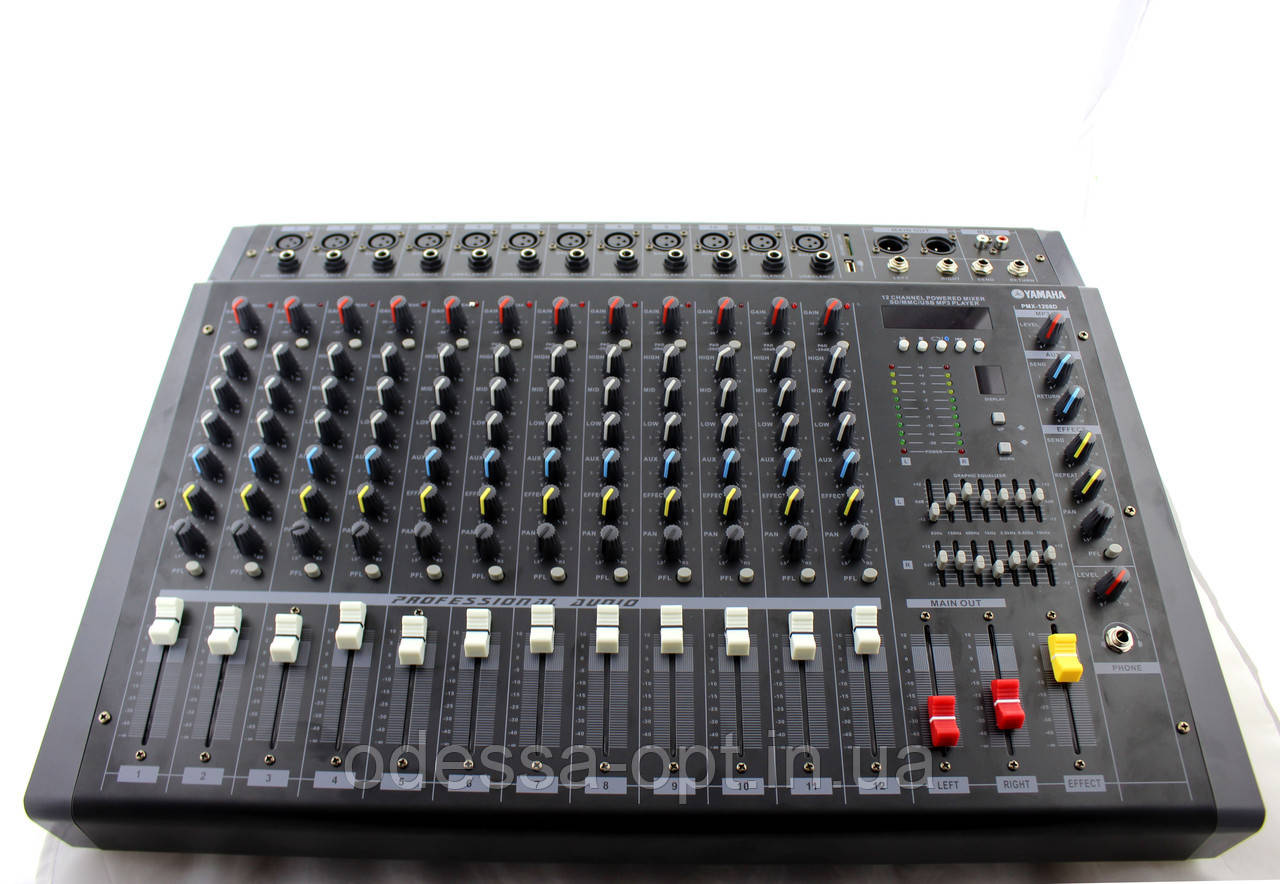 Аудио микшер Mixer BT 1208D