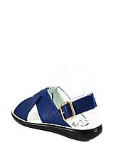 Сандалии женские TiBet 202-02-57-1 синие (36), фото 2