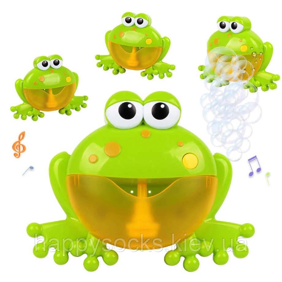 Музична іграшка для ванної Жаба