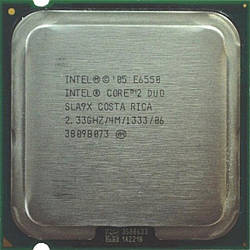 Б/У Процессор Intel E6550 /Ядер 2/Частота 2,33Ггц /Intel Core 2 Duo/LGA775