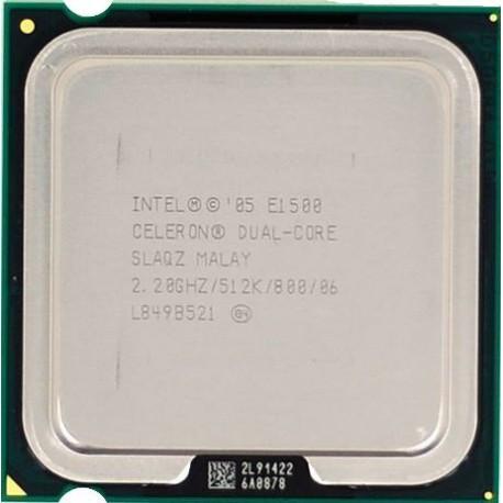 Б/У Процессор Intel E1500 /Ядер 2/Частота 2,2Ггц /Intel Celeron/LGA775