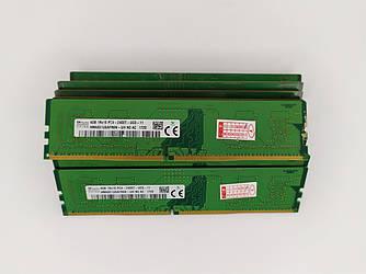 Б/У оперативная память Hynix 4Gb DDR4 PC4-2400T DIMM 2400Mhz в ассортименте