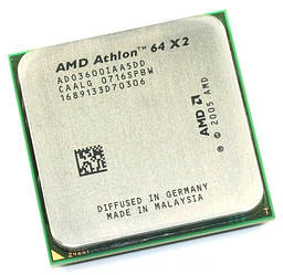 Б/У Процессор AMD Athlon 3600+ /Ядер 2/Частота 2Ггц /AMD Athlon II X2/AM2