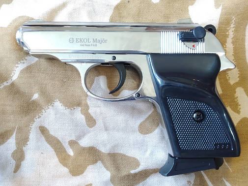 Сигнальный пистолет Ekol Major Chrome, фото 2