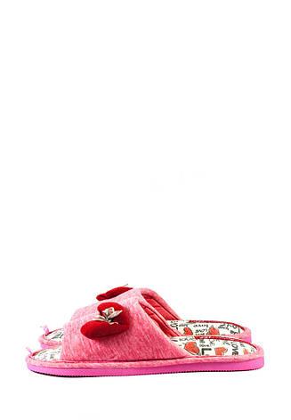 Тапочки комнатные женские Home Story 200306-E розовые (36), фото 2