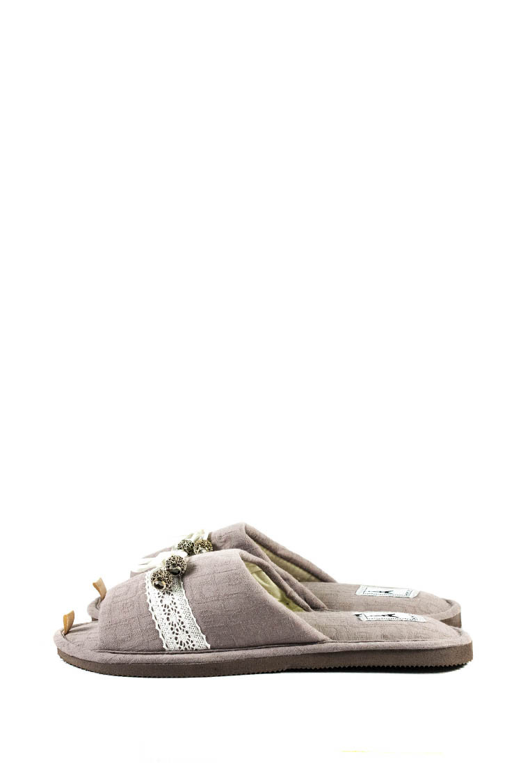 Тапочки комнатные женские Home Story 200305-E серый (36)