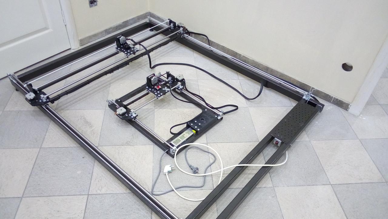 Лазерний гравер з ЧПУ, лазерний верстат, гравірувальний верстат 15 Вт