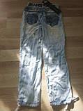 Летние джинсы-шаровары для девочки, фото 2