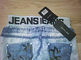 Летние джинсы-шаровары для девочки, фото 5