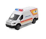 Машина для мальчика Скорая помощь  (AS-2246A) (с инерционным механизмом)