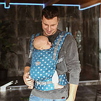 Эрго рюкзак для новорожденных ONE + Love & Carry Многофункциональн Рюкзак для переноски детей Анатомич