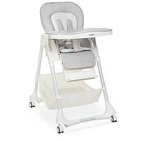 Детский стульчик для кормления Bambi M 3822 Gray серый