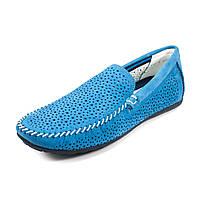 Мокасины мужские MIDA 13374-328 голубой нубук (43)