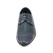 Туфли мужские MIDA 13310-29 темно-синяя кожа (44), фото 3