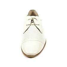 Туфли мужские MIDA 13271-14 белая кожа (43), фото 3