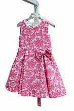 Нарядное платье для девочки Alice Pi Италия 2021 Розовый