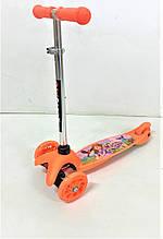 Детский трехколесный самокат 5411