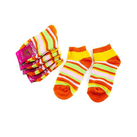 Носки женские Рубеж-Текс 130 цвет полоска 36-39, фото 2
