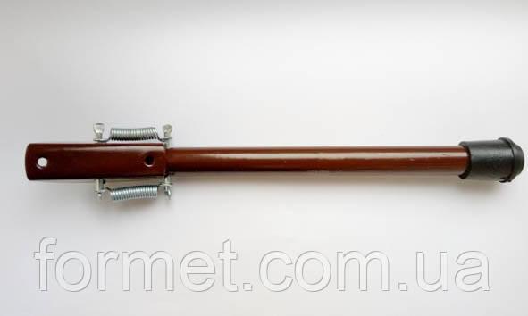 Ножка откидная 25-300мм коричневая