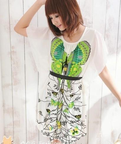 Платье-туника Бабочка