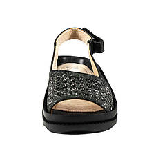 Босоножки женские Azatti 121 черные (36), фото 3