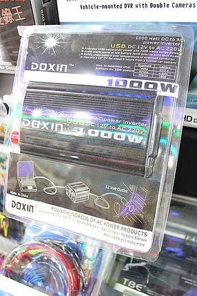 Автоинвертор Doxin DXP1000H 12-220 вольт,1000 ватт.купить в Харькове,Киеве,Донецке,Львове, фото 2