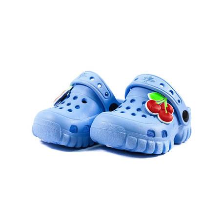 Сабо детские Jose Amorales 118004-1 голубые (18), фото 2